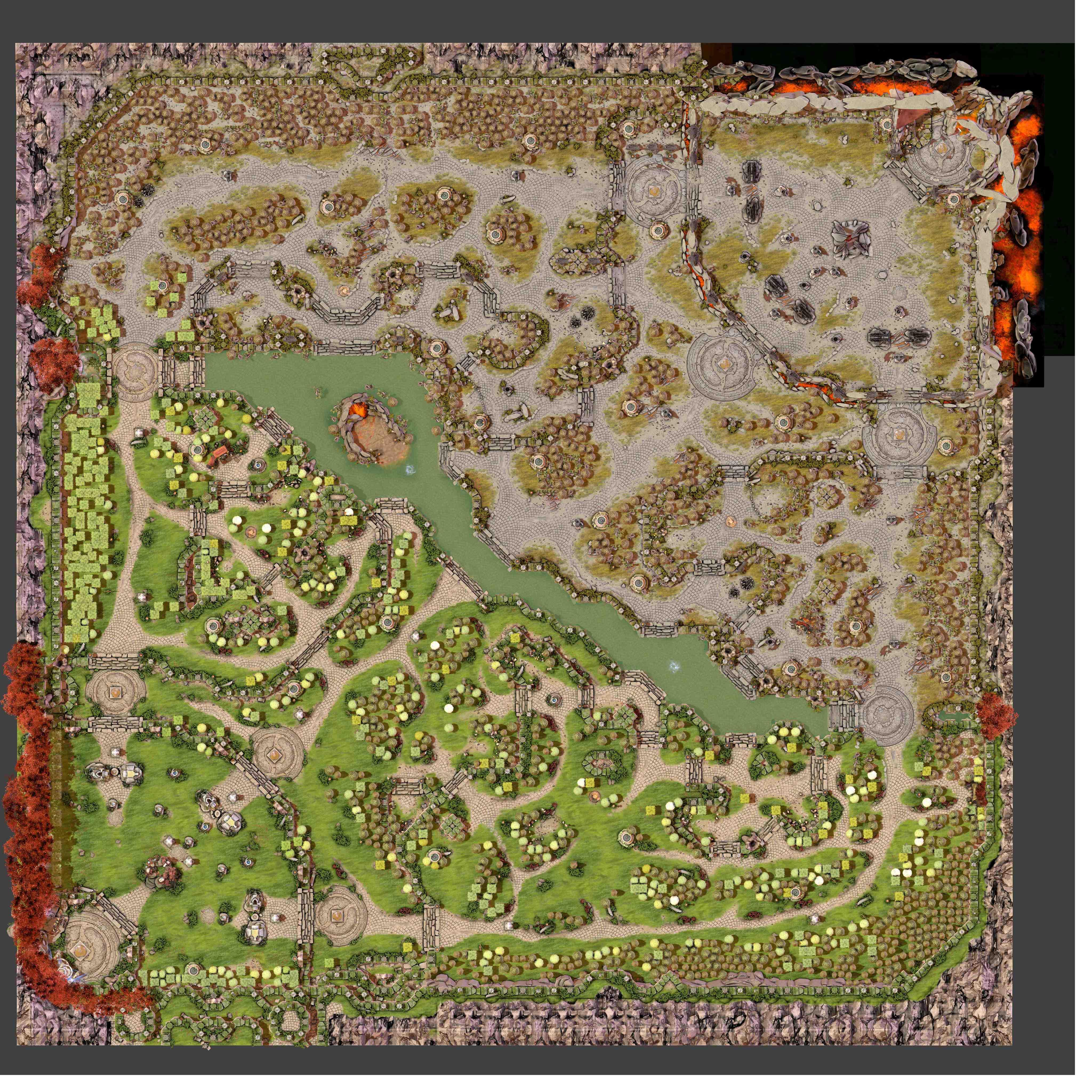 Dota 2 Map Images